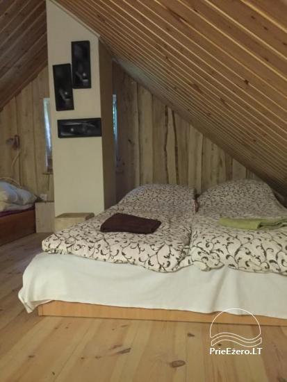 Lauku sēta tuvu Plateliai ezera Lietuvā - villa BRONELE - 7
