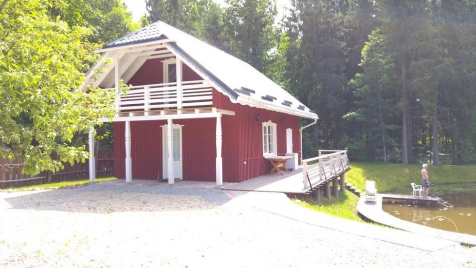Lauku sēta tuvu Plateliai ezera Lietuvā - villa BRONELE - 9