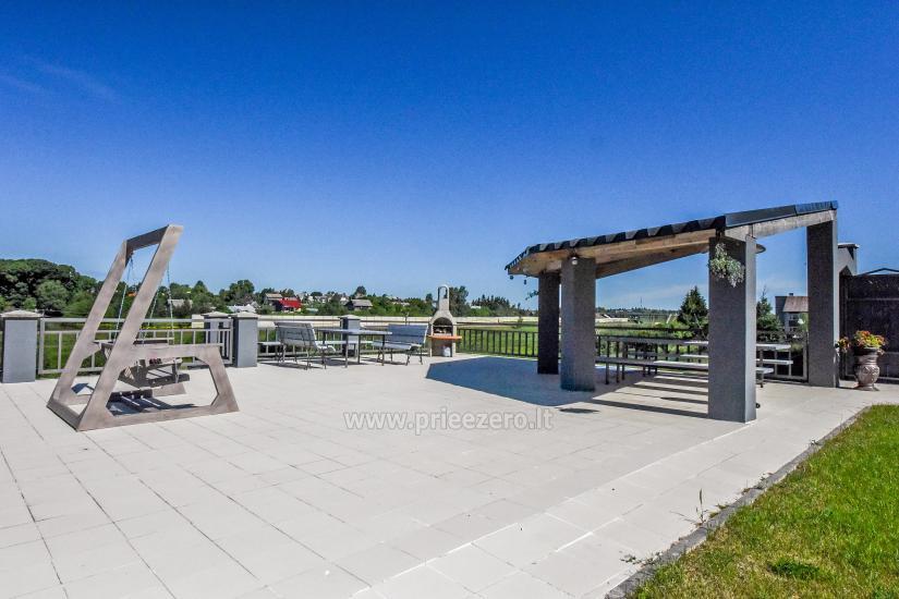 Villa MS resort par saviem pasākumiem un izmitināšanas 3 km no Viļņas - 11