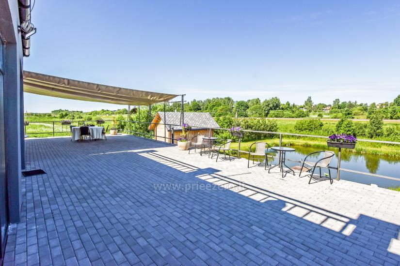 Villa MS resort par saviem pasākumiem un izmitināšanas 3 km no Viļņas - 9