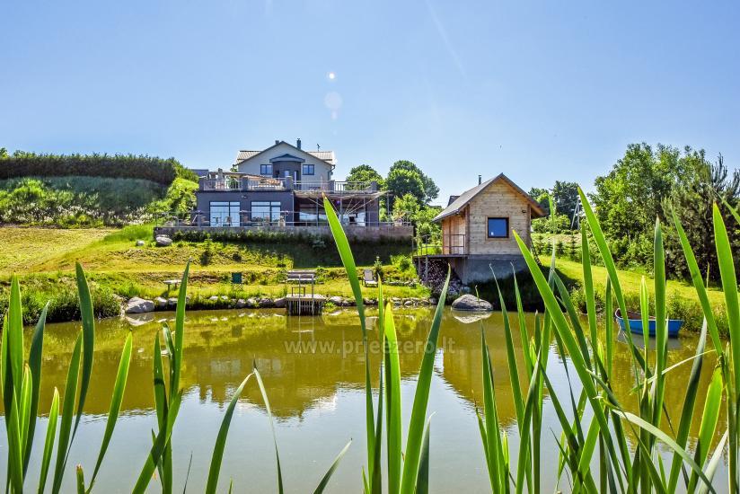Villa MS resort par saviem pasākumiem un izmitināšanas 3 km no Viļņas - 6