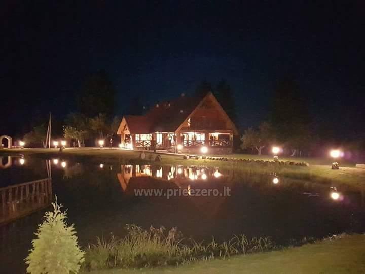 Zelta zivs - lauku sēta ar saunu brīvdienām un svētkiem - 10