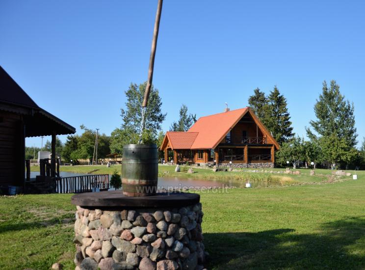 Zelta zivs - lauku sēta ar saunu brīvdienām un svētkiem - 9