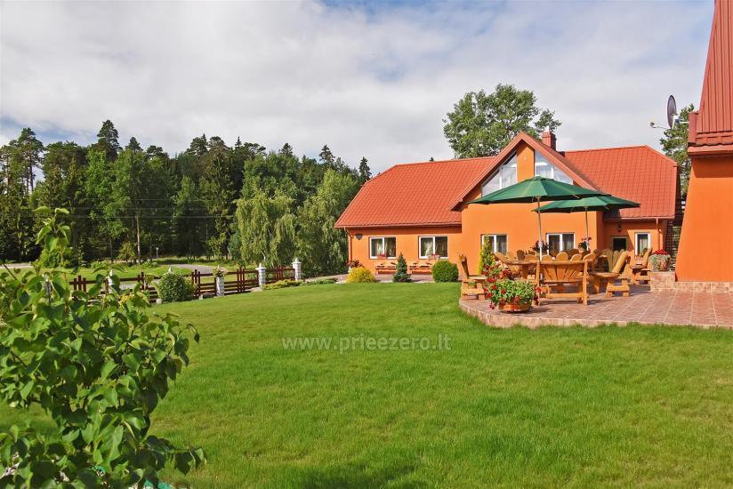 Lauku sēta par Tytuva upes krastā - 11