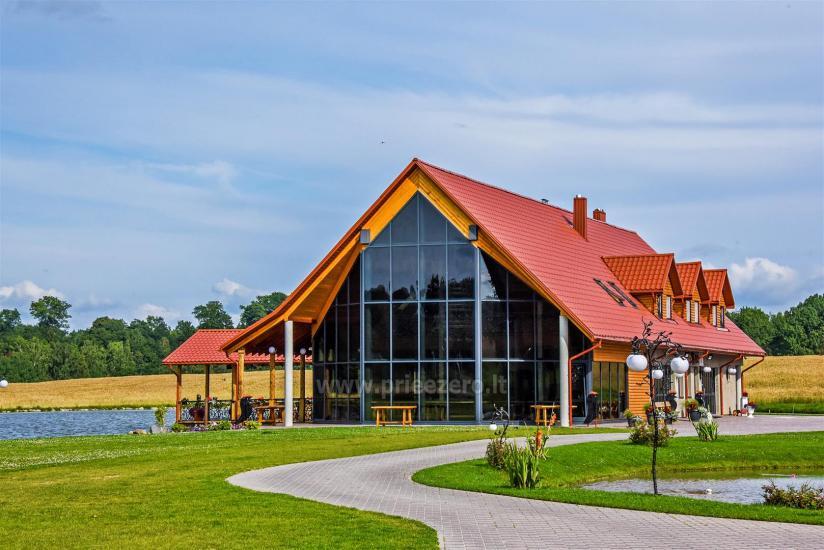 Lauku sēta ar saunu Blue Wave Lietuvā - 5