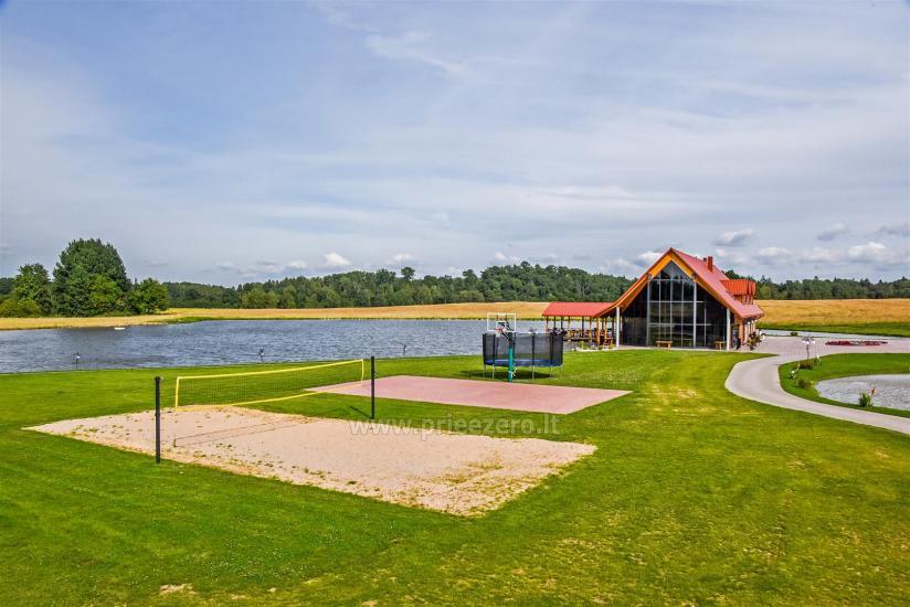 Lauku sēta ar saunu Blue Wave Lietuvā - 8