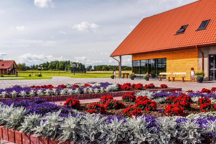 Lauku sēta ar saunu Blue Wave Lietuvā - 16