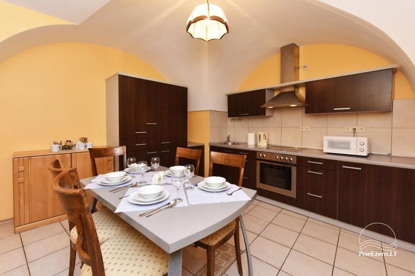 Izīrē 3 istabu dzīvokli Viļņas vecpilsētā Castle Street Apartment - 14