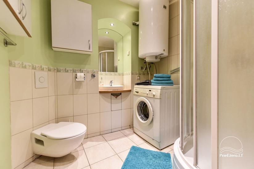 Izīrē 3 istabu dzīvokli Viļņas vecpilsētā Castle Street Apartment - 17