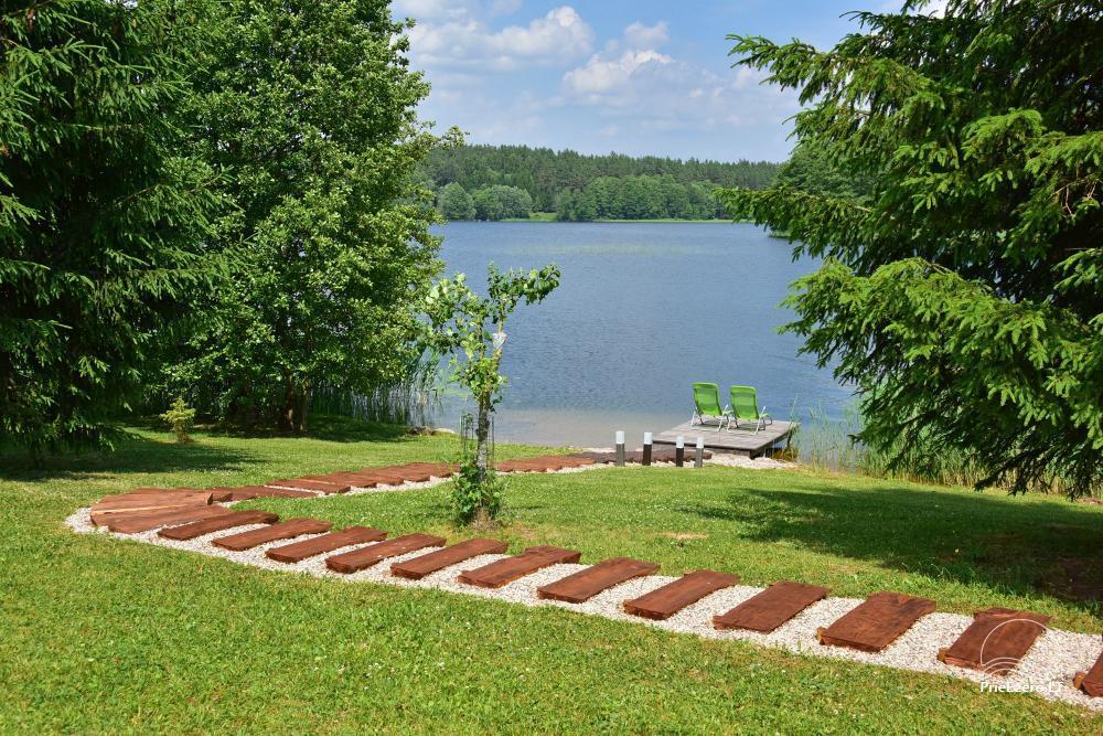Brīvdienu mājas - viensētas krastā Antalieptė lagūnas Mekai - 58