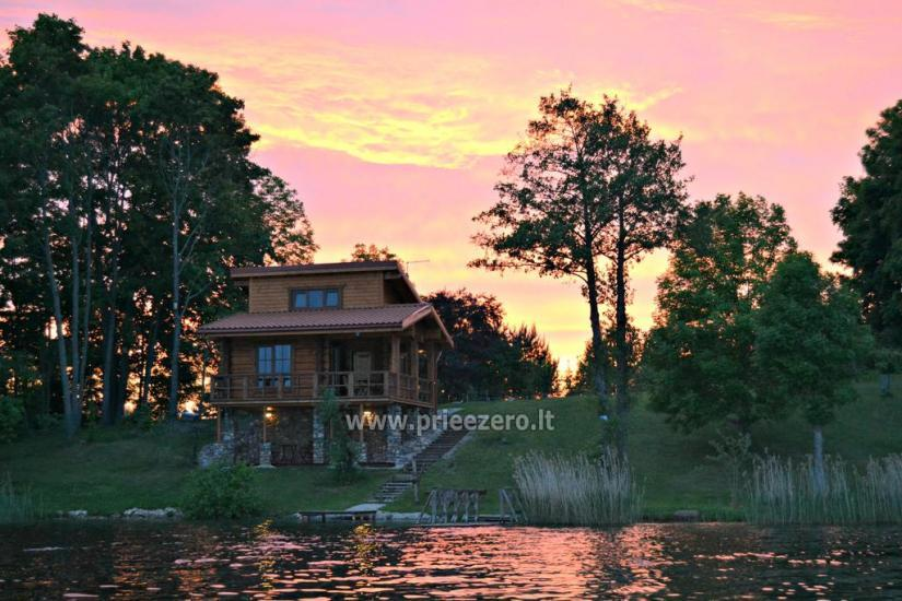 Brīvdienu mājas - viensētas krastā Antalieptė lagūnas Mekai - 1