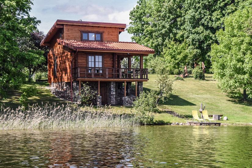 Brīvdienu mājas - viensētas krastā Antalieptė lagūnas Mekai - 8