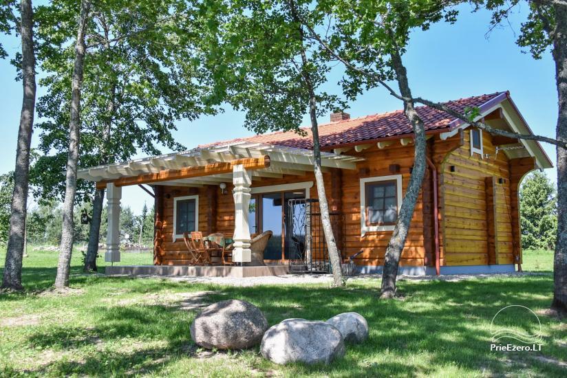 Brīvdienu mājas - viensētas krastā Antalieptė lagūnas Mekai - 33