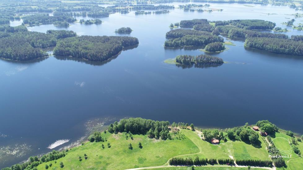 Brīvdienu mājas - viensētas krastā Antalieptė lagūnas Mekai - 51