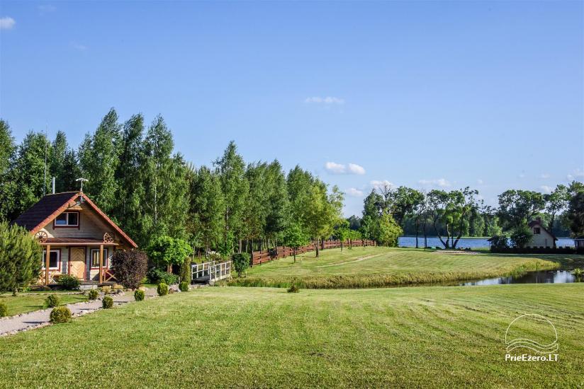 Lauku māja Molėtai pie ezera Gėluotas Vila-RA - 42