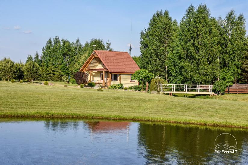 Lauku māja Molėtai pie ezera Gėluotas Vila-RA - 41