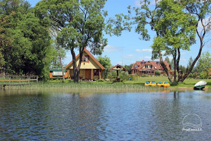 Lauku māja Molėtai pie ezera Gėluotas Vila-RA - 54