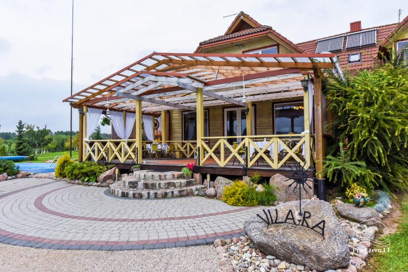 Lauku māja Molėtai pie ezera Gėluotas Vila-RA - 12