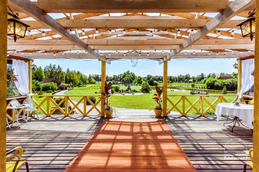 Lauku māja Molėtai pie ezera Gėluotas Vila-RA - 15