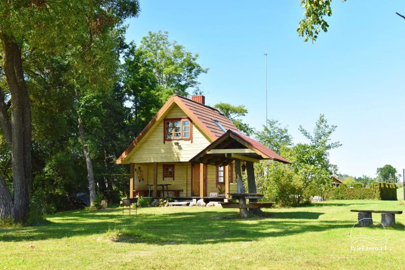 Lauku māja Molėtai pie ezera Gėluotas Vila-RA - 56