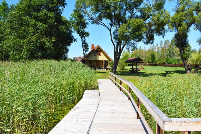 Lauku māja Molėtai pie ezera Gėluotas Vila-RA - 55