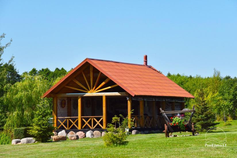 Lauku māja Molėtai pie ezera Gėluotas Vila-RA - 33