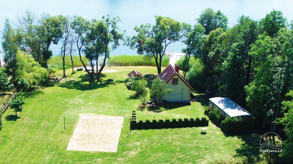 Lauku māja Molėtai pie ezera Gėluotas Vila-RA - 38