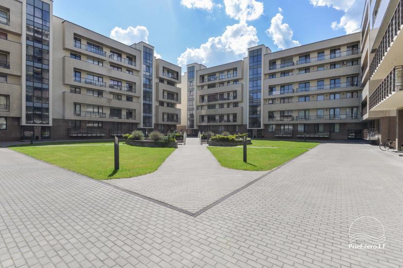 Jaunas divu istabu dzīvokļi centrā Druskininkai - 14