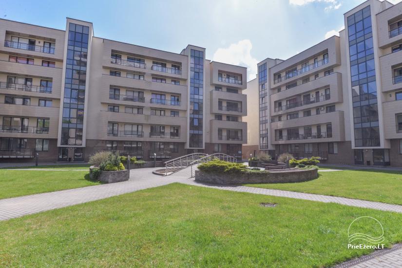 Jaunas divu istabu dzīvokļi centrā Druskininkai - 15