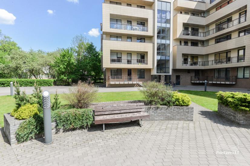 Jaunas divu istabu dzīvokļi centrā Druskininkai - 1