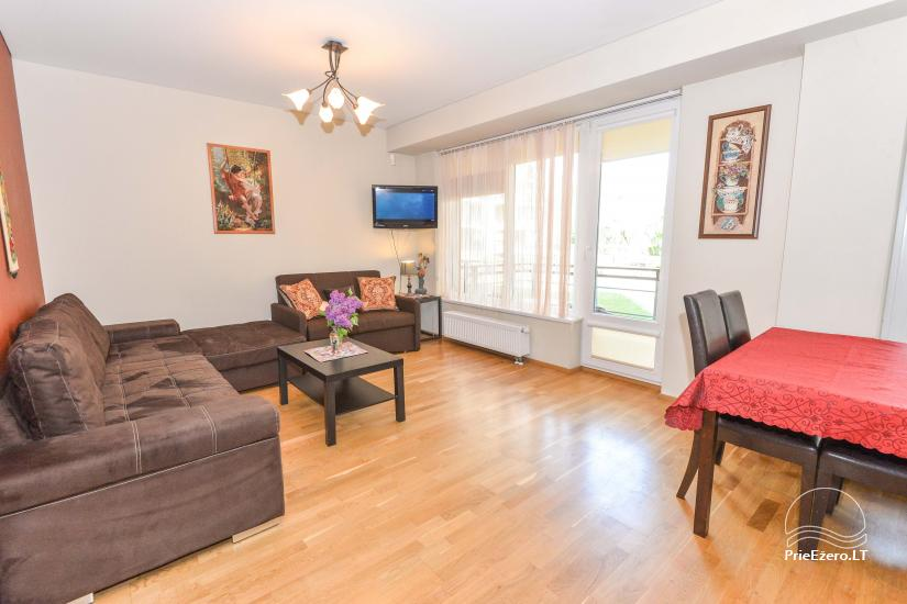 Jaunas Viena istaba un divu istabu dzīvokļi centrā Druskininkai - 10