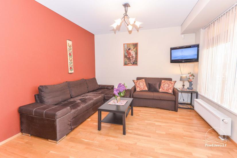 Jaunas Viena istaba un divu istabu dzīvokļi centrā Druskininkai - 11