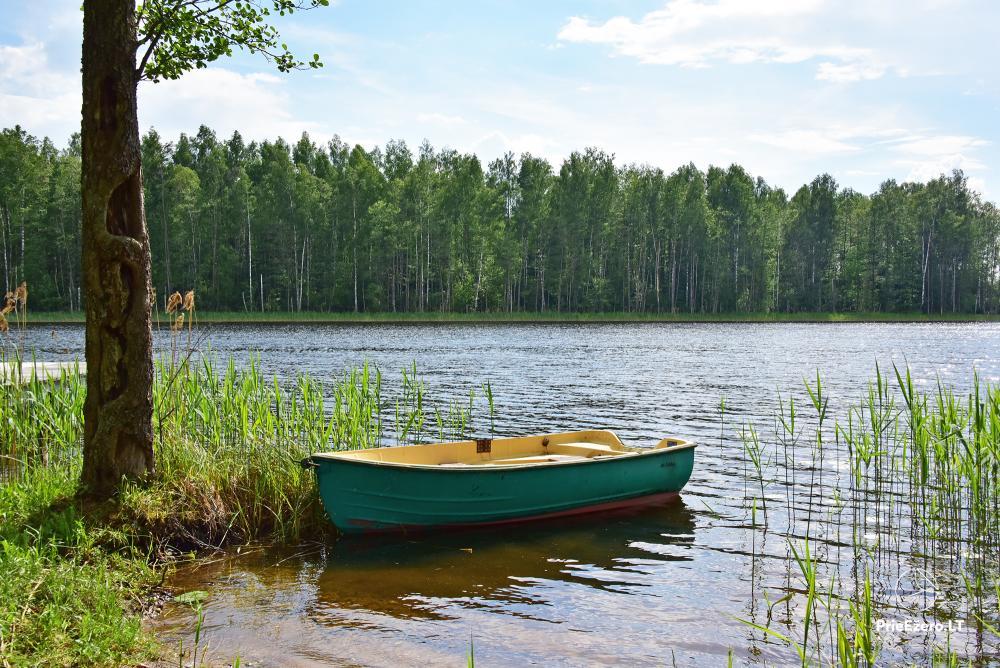 Lauku sēta ezera krastā Villa Jurate - 2