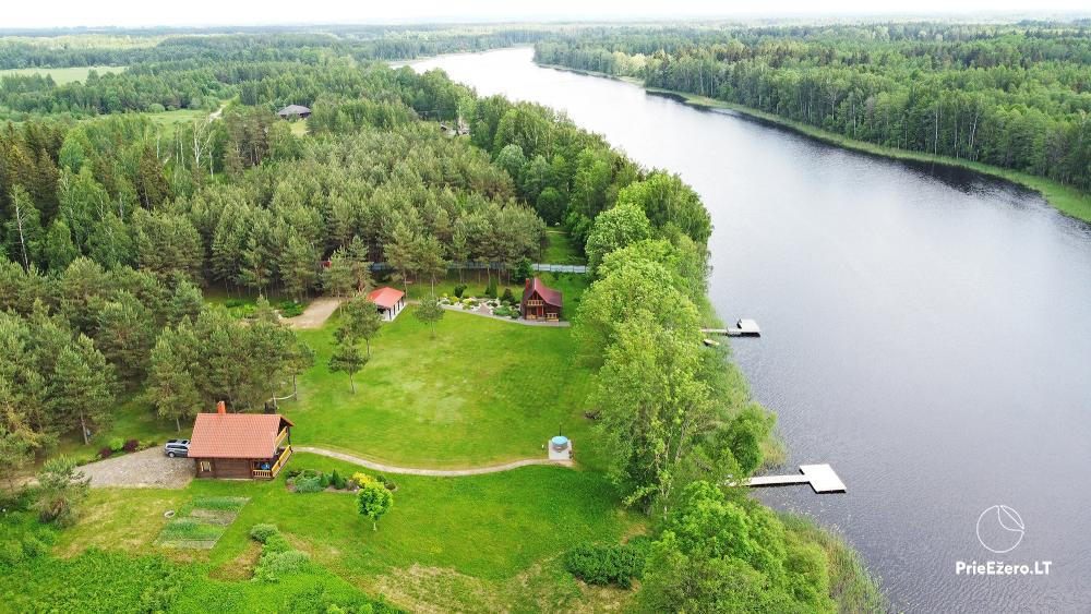 Lauku sēta ezera krastā Villa Jurate - 1