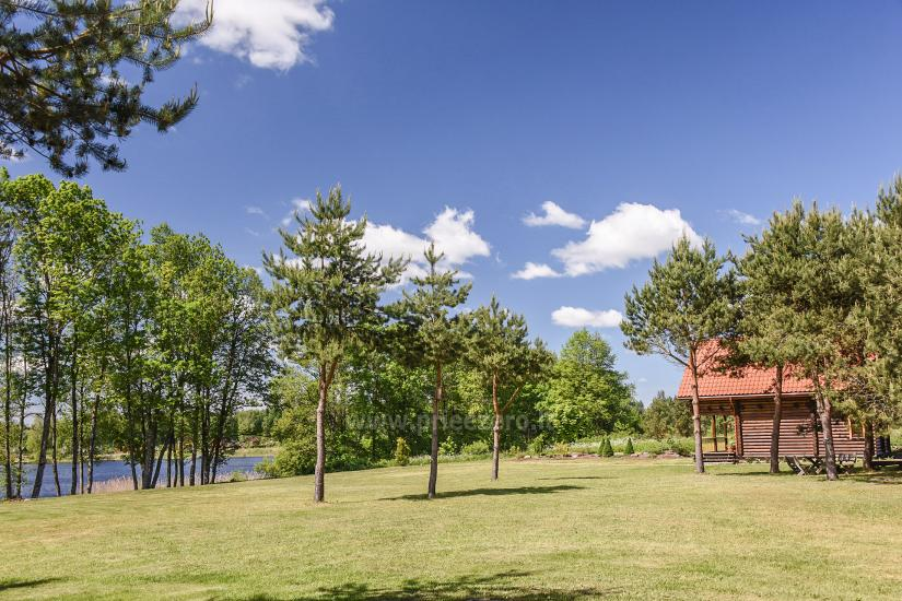 Lauku sēta ezera krastā Villa Jurate - 7
