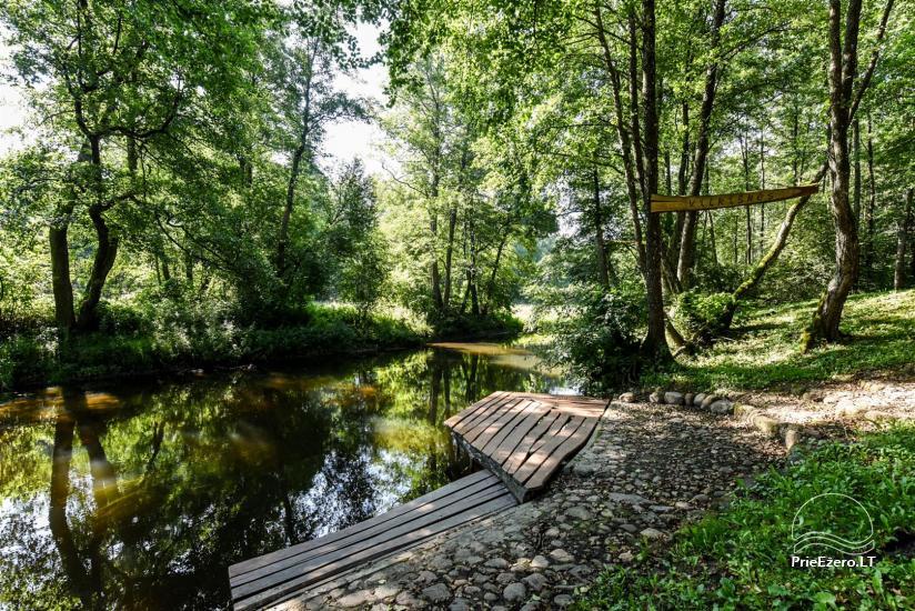 Sēta Vilkiskes 30 km no Viļņas pasākumiem, atvaļinājumiem, smaiļošana - 69