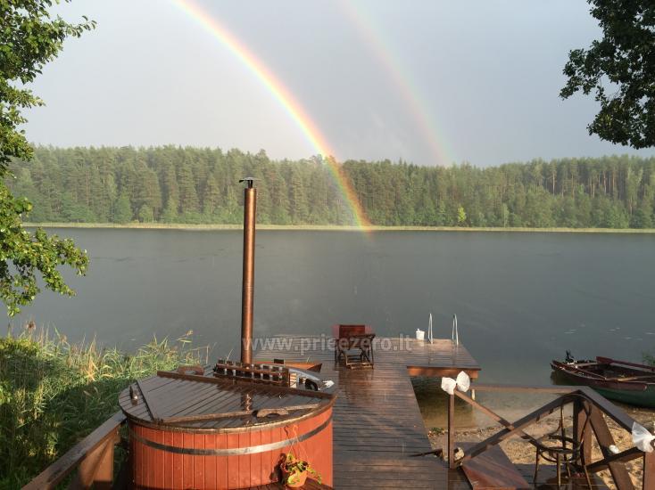 Atpūtas pie ezera Zeimenis Lietuvā - 9