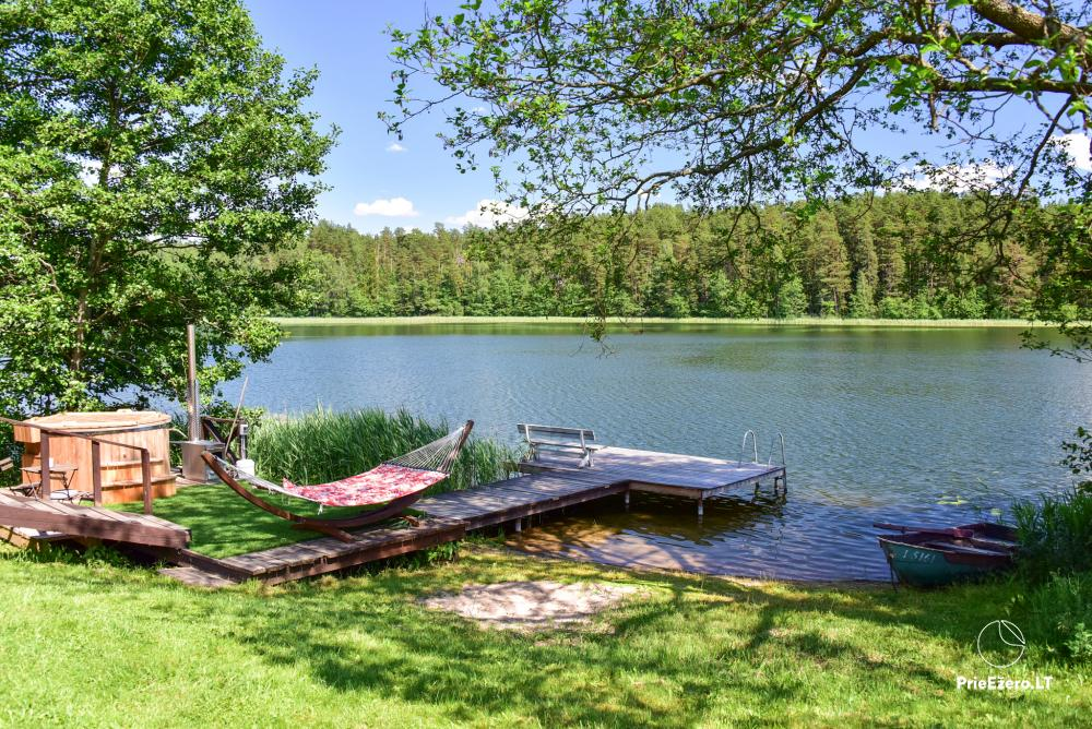 Atpūtas pie ezera Zeimenis Lietuvā - 5