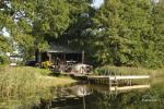 Atpūtas pie ezera Zeimenis Lietuvā
