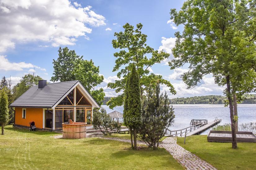 Lauku sēta pie ezera Virintu Lietuvā - 21