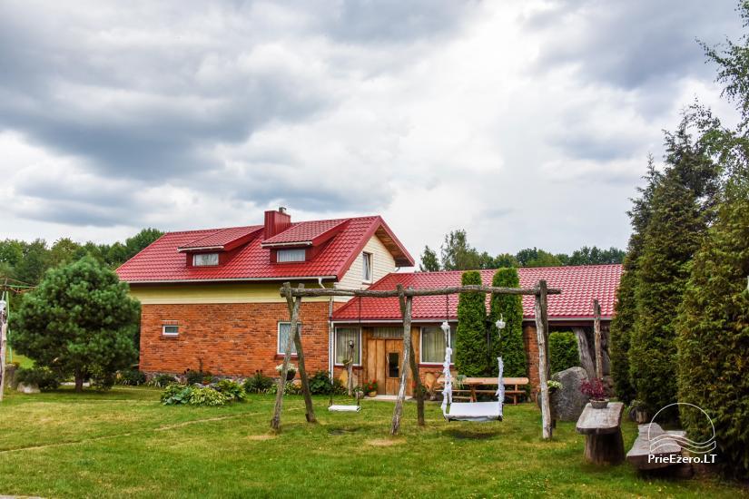 Villas, sauna, zāles noma 10 km no Klaipēdas, netālu minizoo, Jonušai - 3