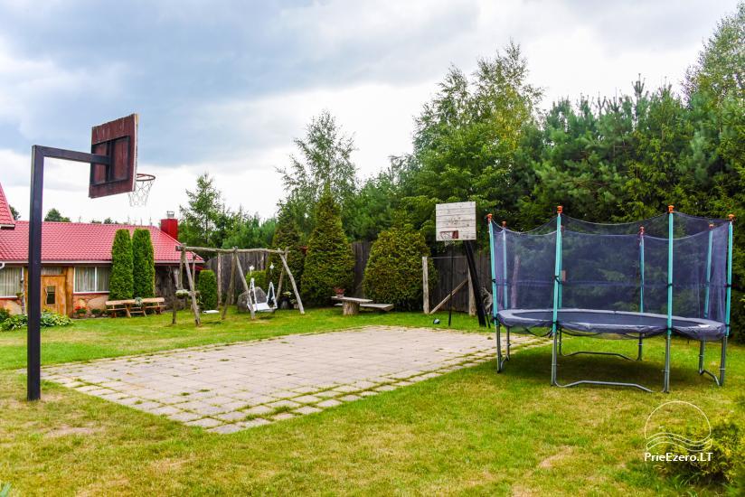 Villas, sauna, zāles noma 10 km no Klaipēdas, netālu minizoo, Jonušai - 7