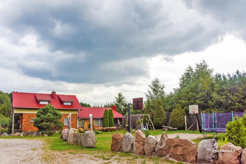Villas, sauna, zāles noma 10 km no Klaipēdas, netālu minizoo, Jonušai - 5