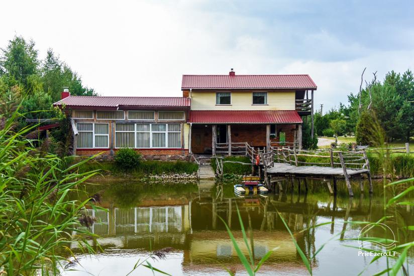 Villas, sauna, zāles noma 10 km no Klaipēdas, netālu minizoo, Jonušai - 6