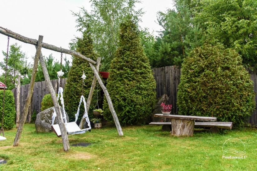 Villas, sauna, zāles noma 10 km no Klaipēdas, netālu minizoo, Jonušai - 11