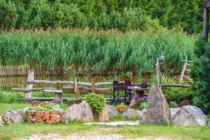 Villas, sauna, zāles noma 10 km no Klaipēdas, netālu minizoo, Jonušai - 9