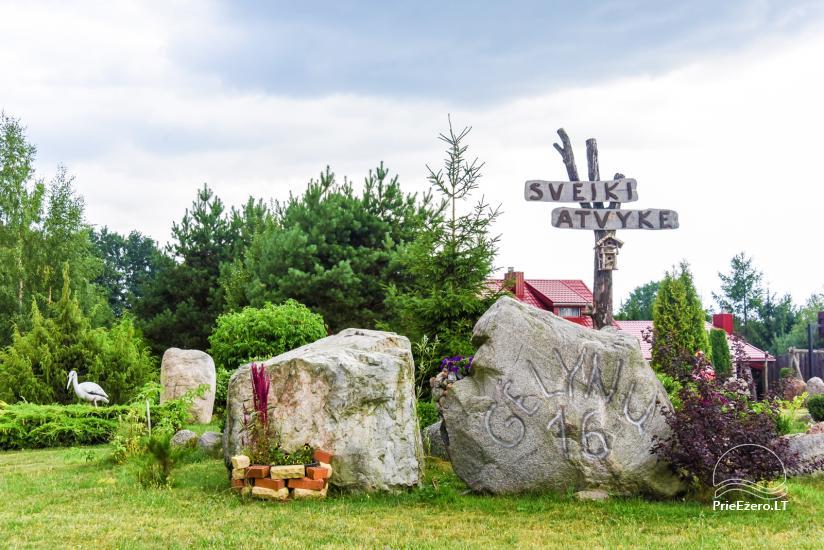 Villas, sauna, zāles noma 10 km no Klaipēdas, netālu minizoo, Jonušai - 13