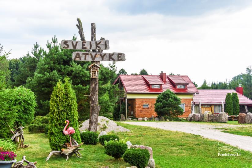 Villas, sauna, zāles noma 10 km no Klaipēdas, netālu minizoo, Jonušai - 1