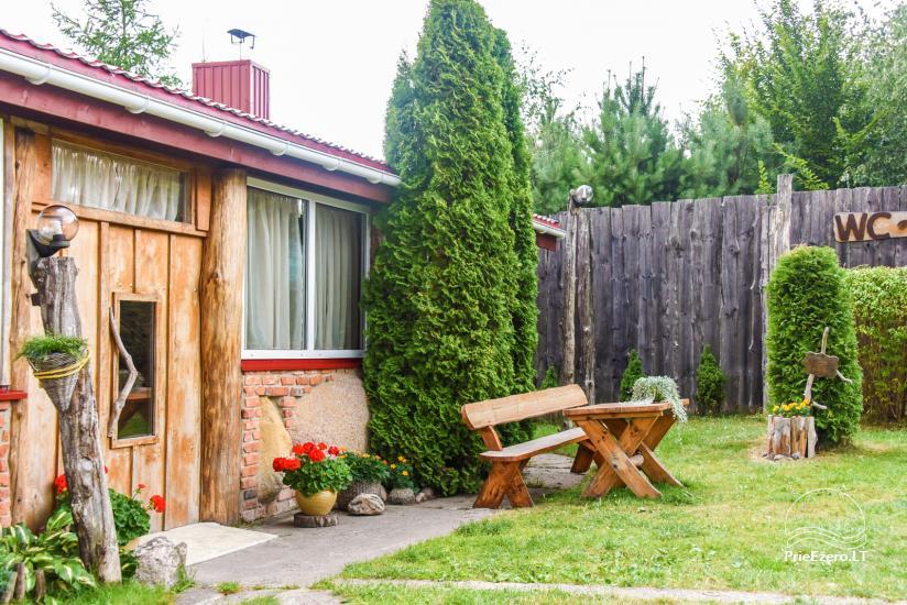 Villas, sauna, zāles noma 10 km no Klaipēdas, netālu minizoo, Jonušai - 14