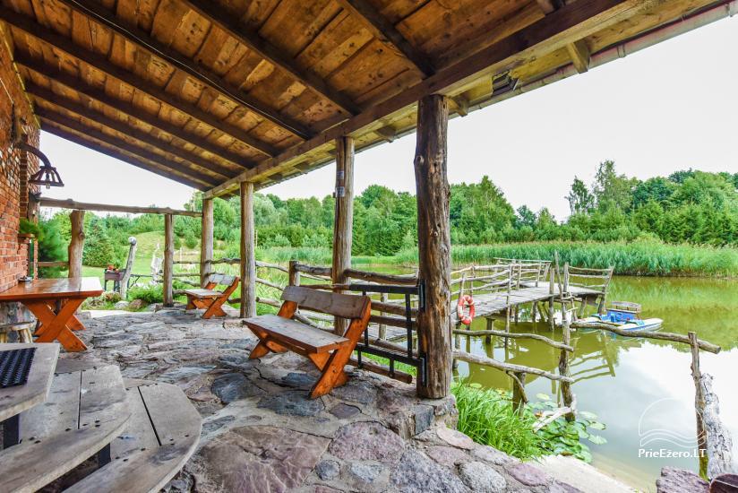 Villas, sauna, zāles noma 10 km no Klaipēdas, netālu minizoo, Jonušai - 17